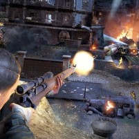 Sniper Elite HD Overhead Action Battle Ultra 4K