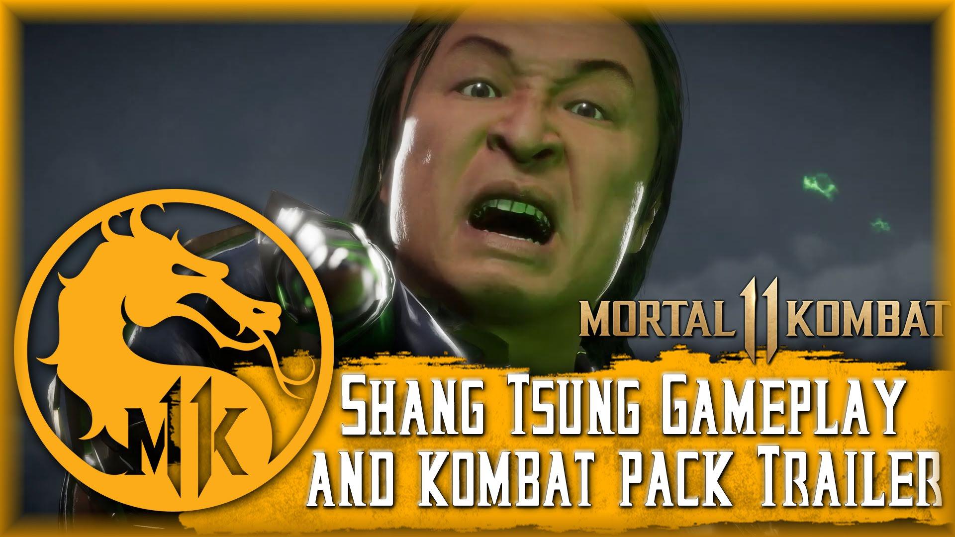 Mortal Kombat Shang Tsung & Kombat Pack Gameplay Trailer