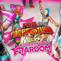"Fire Pro Wrestling World ""World Wonder Ring Stardom DLC"" Hana Kimura Vs Starlight Gameplay"