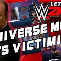 WWE 2K20 Let's Talk: Universe Mode Gets Victimized