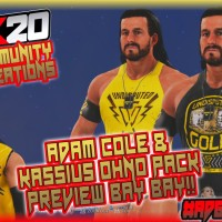 WWE 2K20 Adam Cole & Kassius Ohno Pack 1 PS4 Preview And Details