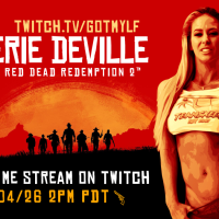 Join Pornstar Cherie DeVille This Sunday on Twitch for Hot Gaming Action