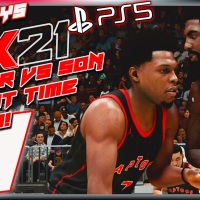 "ADG Plays Next-Gen PS5 NBA 2K21 ""For The First Time"" Father Vs Son Combo Special Impressions"