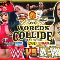 PS5 WWE 2K20 DWE FVS Worlds Collide Matchup Gameplay| Nikki Bella Vs Thunder Rosa