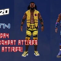WWE 2K20 The New Day Mortal Kombat Attires By Legit Attires