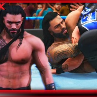 PS5 WWE 2K Highlight Featuring WWE 2K20 Roman Reigns &  Dominique Mysterio CAWS